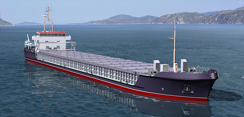 dry-cargo ship project  33750