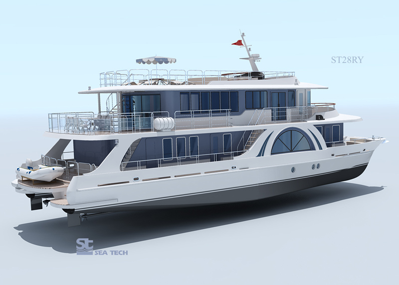 River Yacht Otrada 2 Seatech Ltd