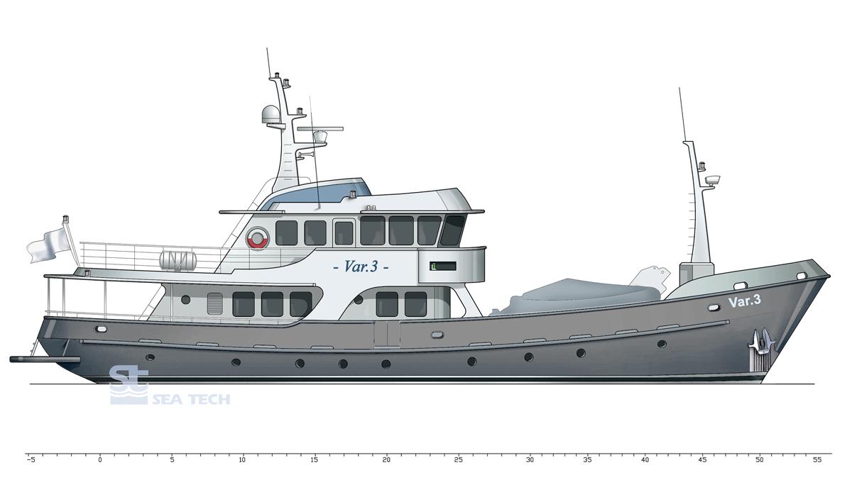 Boat plans ru for Garden design trawler boat