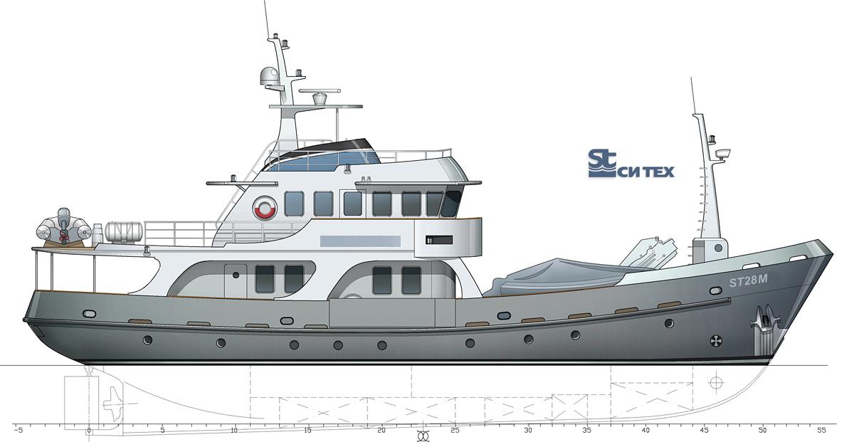 Trawler Yacht ST2807M SeaTech Ltd