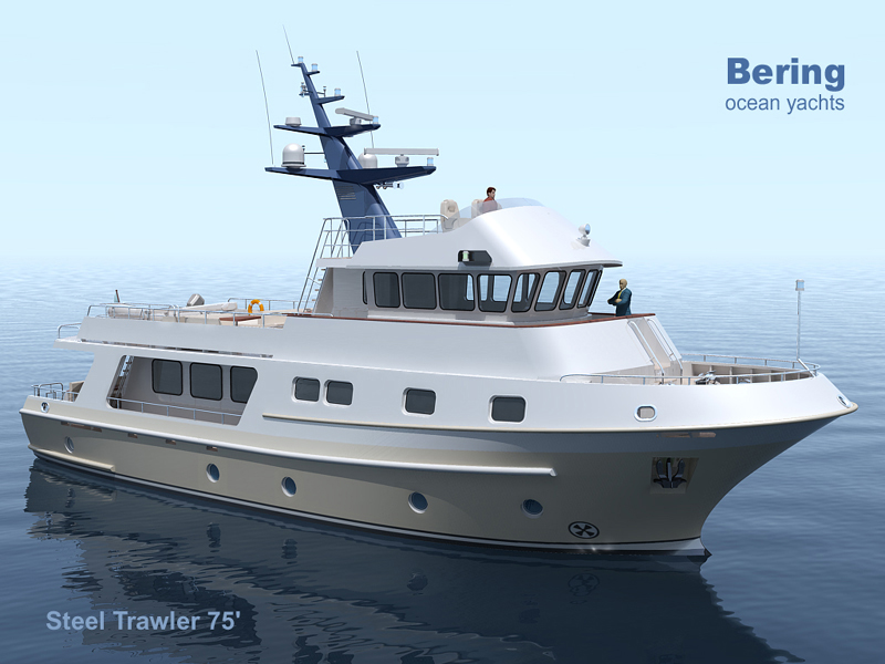 Motor yacht smt70 expedition trawler yacht seatech ltd for Garden design trawler boat