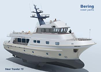 Motor yacht smt70 expedition trawler yacht seatech ltd for Garden design trawler boat