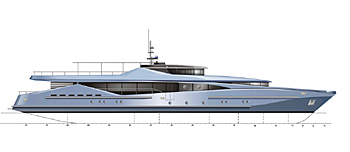 River cruise yacht