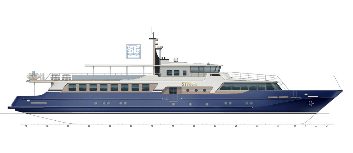 River cruise yachts. SeaTech ltd
