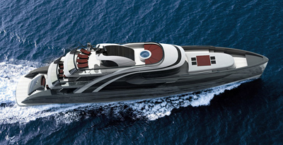 Mega Yacht. Project PG50